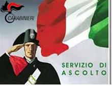 """""""SERVIZIO  DI ASCOLTO"""" DEI CARABINIERI"""