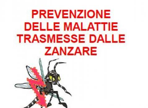 Prevenzione delle malattie trasmesse dalle zanzare