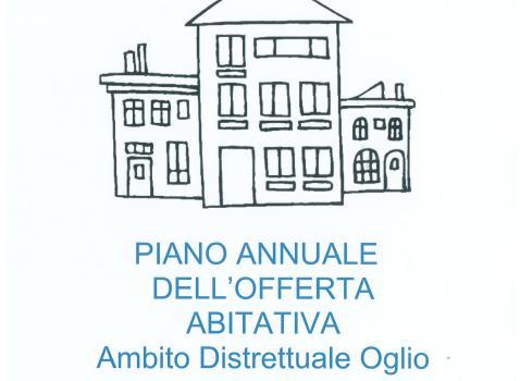 Piano annuale offerta abitativa - Ambito Oglio Ovest- Anno 2021