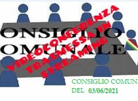 Consiglio Comunale 03/06/2021